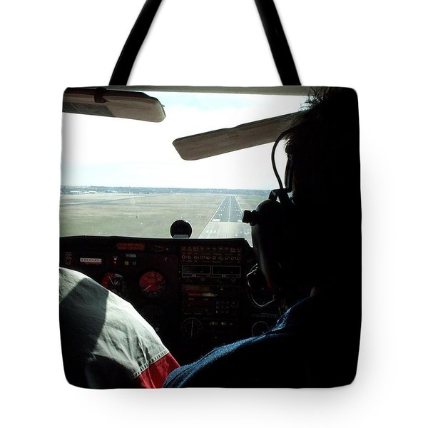 Runway 10 Dallas Area Tote Bag by Thomas Woolworth