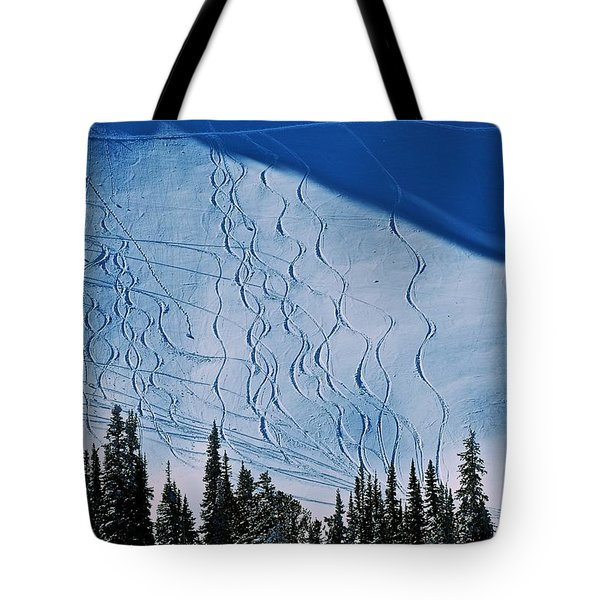 Rushing Back For Seconds Tote Bag by Eric Tressler