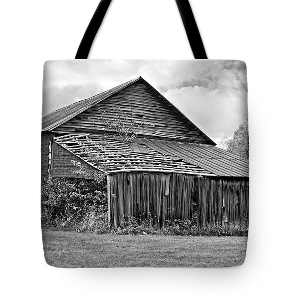 Rustic Charm Monochrome Tote Bag by Steve Harrington