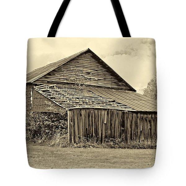 Rustic Charm Sepia Tote Bag by Steve Harrington