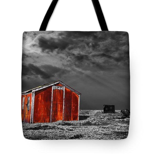 rusting away Tote Bag by Meirion Matthias