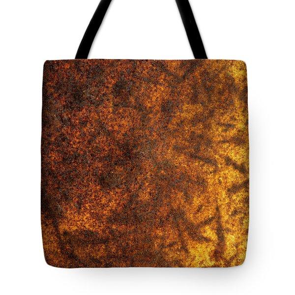 Rusty Background Tote Bag by Carlos Caetano