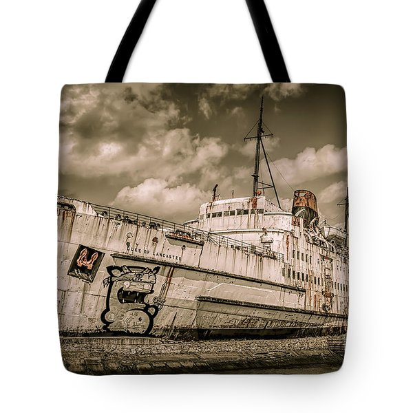 Rusty Duke Tote Bag by Adrian Evans