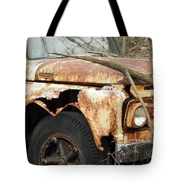 Rusty Ford Tote Bag by Luke Moore