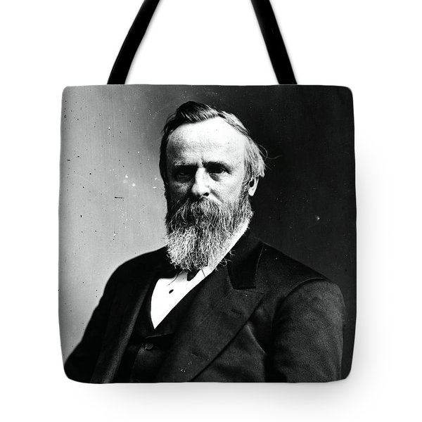 Rutherford B. Hayes, 19th American Tote Bag by Photo Researchers