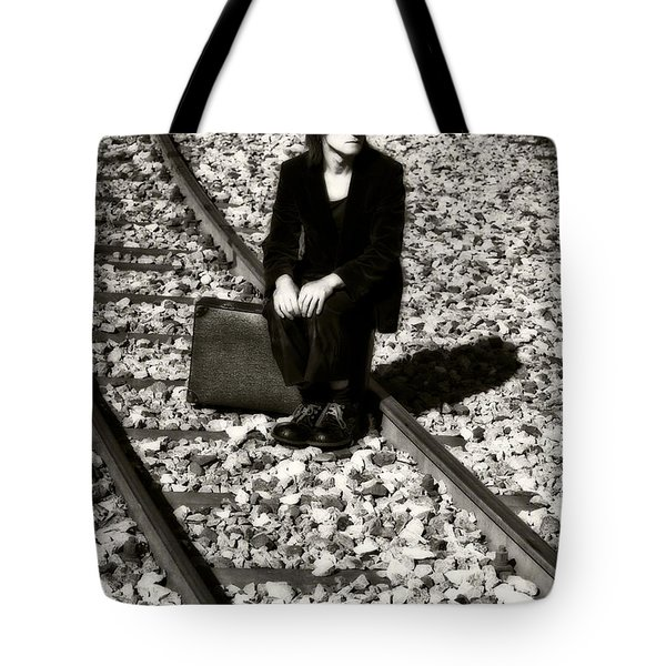 Sad Clown Tote Bag by Joana Kruse