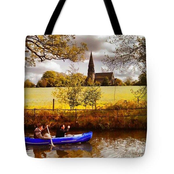 Sail Away Tote Bag by Isabella Abbie Shores