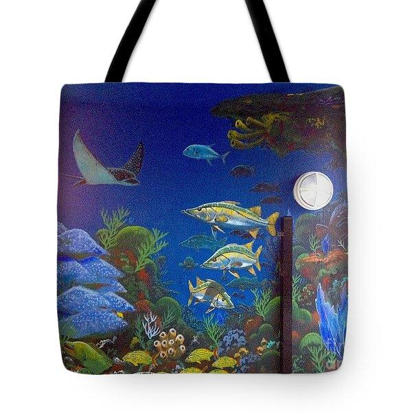 Sailfish Splash Park 9 Tote Bag by Carey Chen
