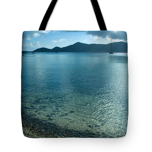 Sailing Away Tote Bag by Kathy Yates