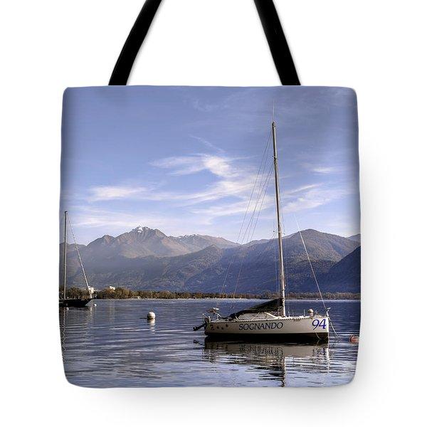 sailing boats Tote Bag by Joana Kruse