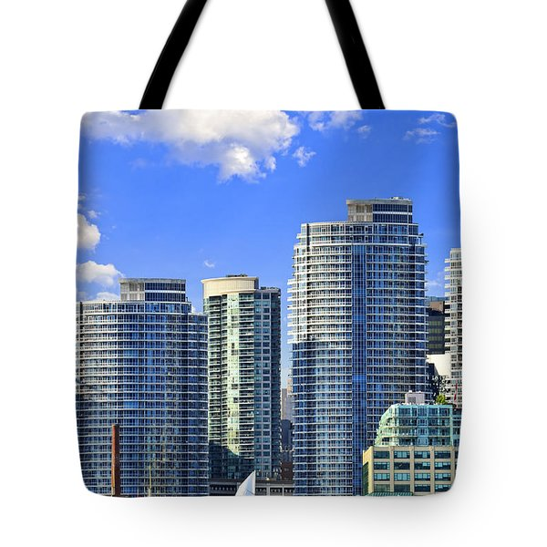 Sailing In Toronto Harbor Tote Bag by Elena Elisseeva