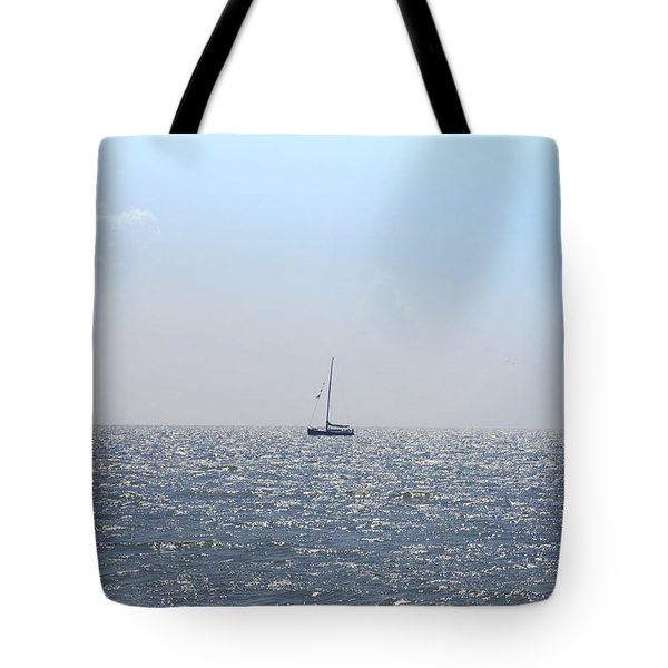Sailing On Tote Bag by Bill Cannon