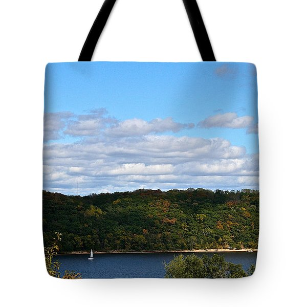 Sailing Summer Away Tote Bag by Susan Herber