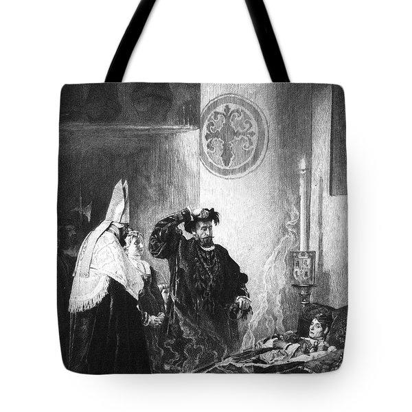 Saint Francis Borgia (1510-1572) Tote Bag by Granger