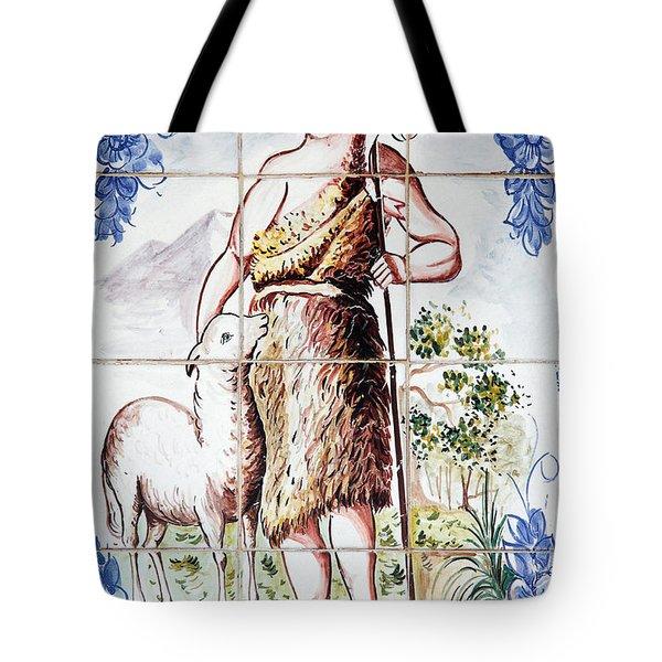 Saint John Tote Bag by Gaspar Avila
