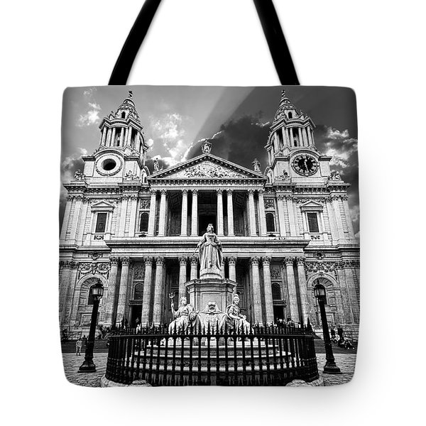 Saint Paul's Cathedral Tote Bag by Meirion Matthias