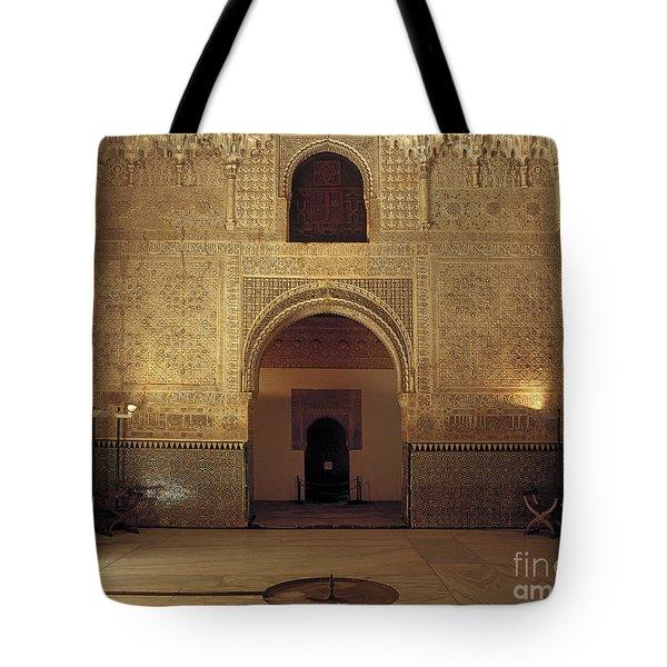 Sala de las dos Hermanas Tote Bag by Guido Montanes Castillo