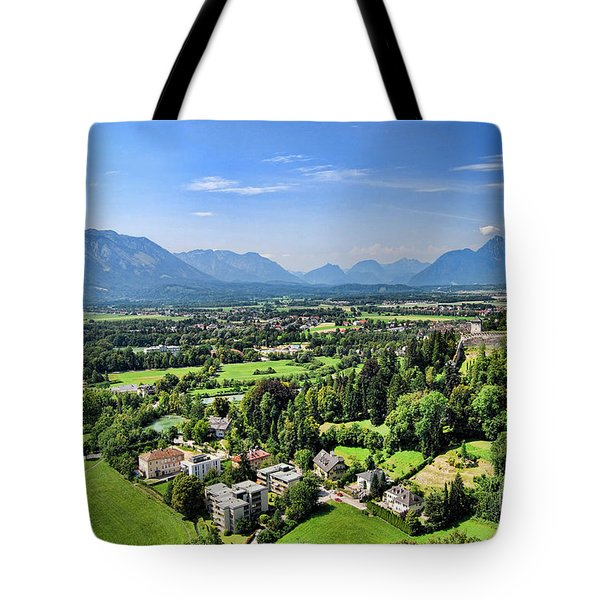 Salzburg IIi Austria Europe Tote Bag by Sabine Jacobs