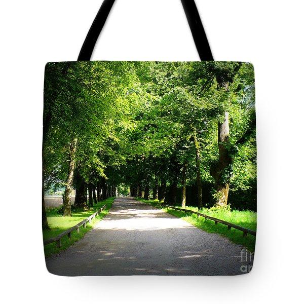 Salzburg Lane Tote Bag by Carol Groenen