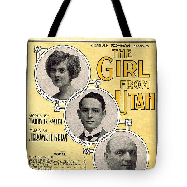 Same Sort Of Girl Tote Bag by Mel Thompson