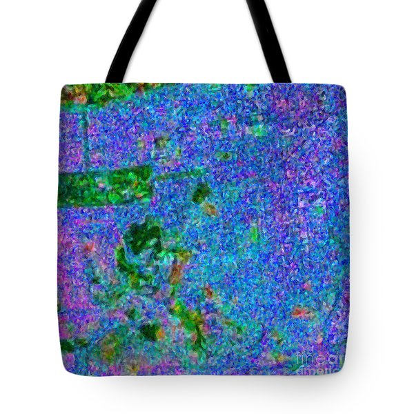 San Francisco California Usa - Abstract - Painterly Tote Bag by Wingsdomain Art and Photography