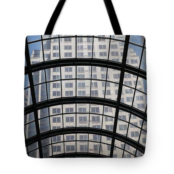 San Francisco Galleria - 5d17073 Tote Bag by Wingsdomain Art and Photography
