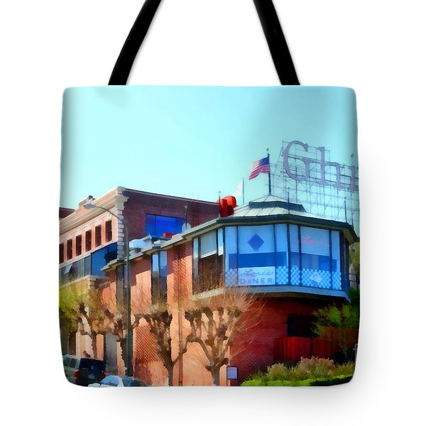 San Francisco Ghirardelli Chocolate Factory . 7d14093 Tote Bag by Wingsdomain Art and Photography