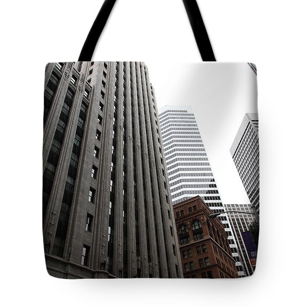 San Francisco Shell Building - 5d17860 Tote Bag by Wingsdomain Art and Photography