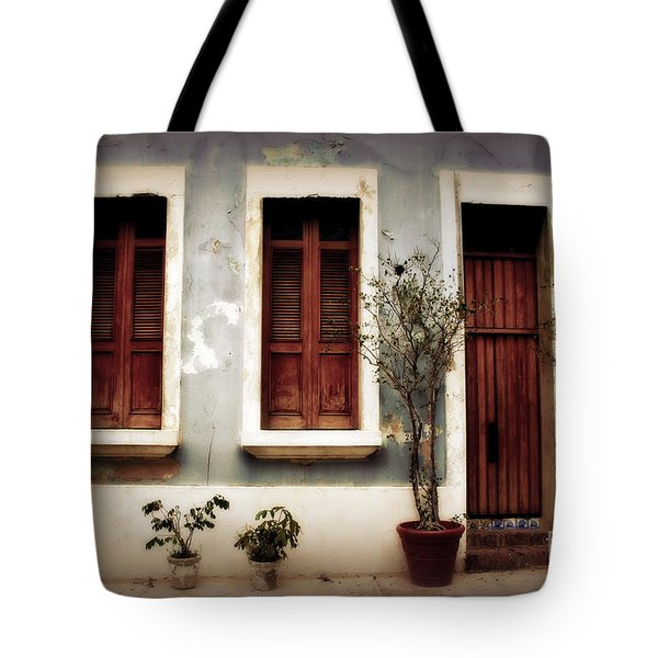 San Juan Living Tote Bag by Perry Webster