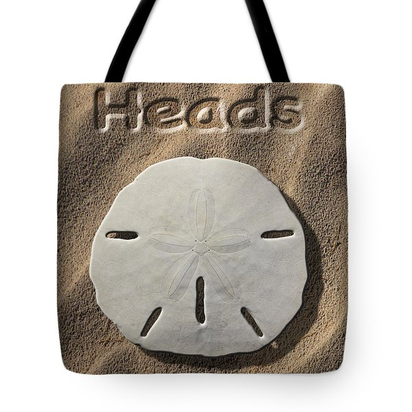 Sand Dollar Heads Tote Bag by Mike McGlothlen