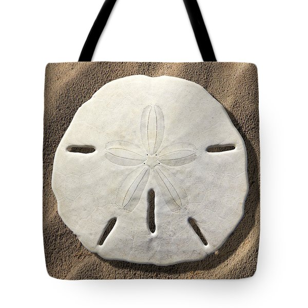 Sand Dollar Tote Bag by Mike McGlothlen