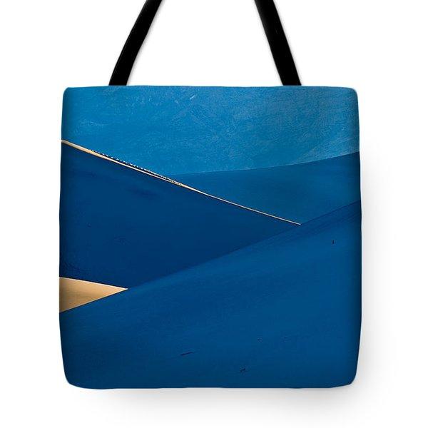 Sand Dunes Sunrise Tote Bag by Steve Gadomski