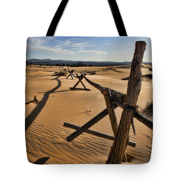 Sand Tote Bag by Heather Applegate