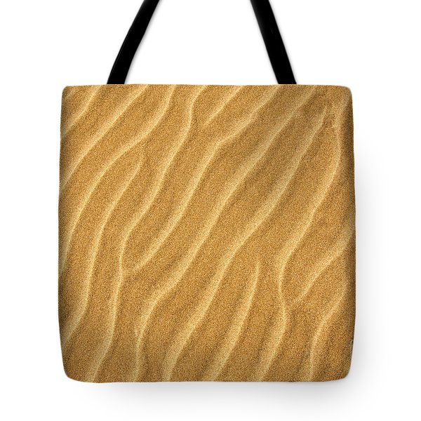 Sand Ripples Abstract Tote Bag by Elena Elisseeva