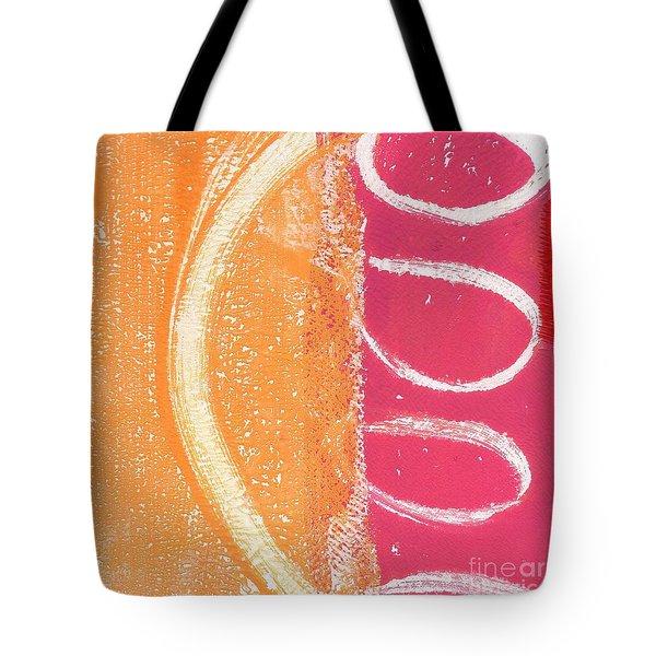 Sante Fe Sunrise Tote Bag by Linda Woods