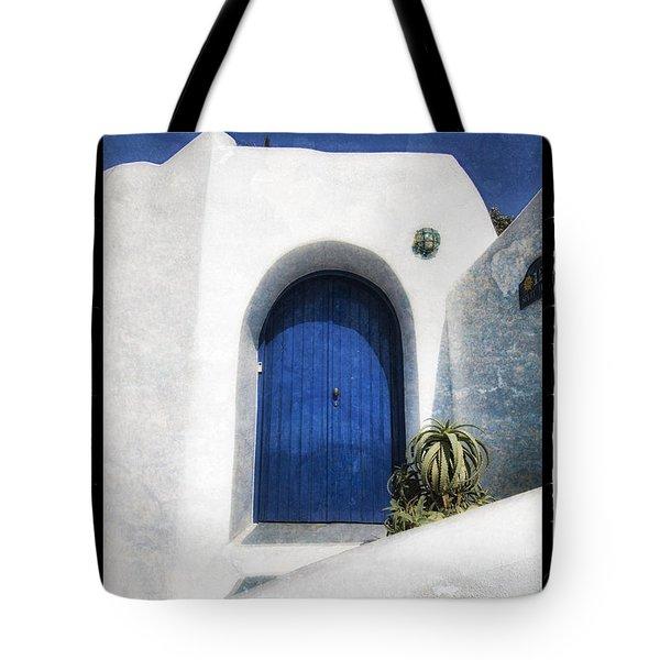 Santorini 1 Tote Bag by Mauro Celotti