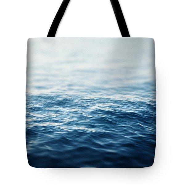 Sapphire Waters Tote Bag by Lisa Russo