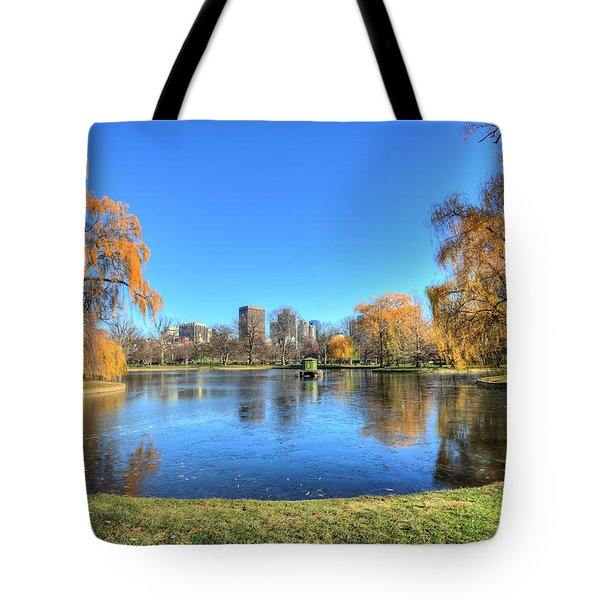 Saturday in the Park Tote Bag by JC Findley