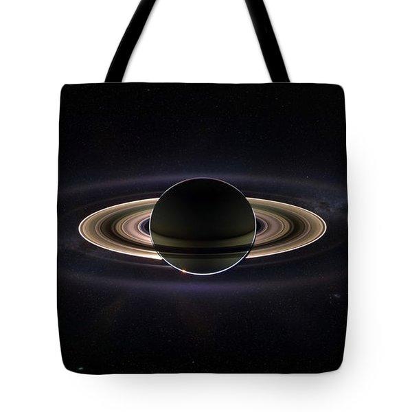 Saturn Tote Bag by Dale Jackson