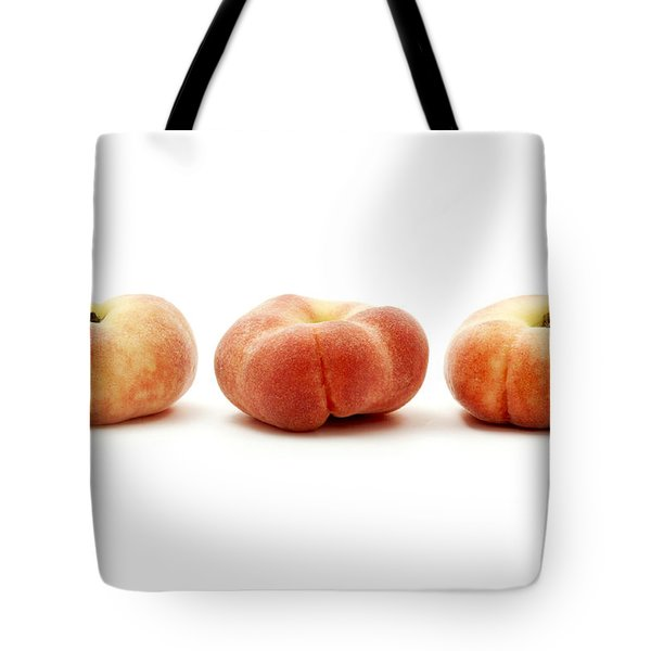 Saturn peaches  Tote Bag by Fabrizio Troiani