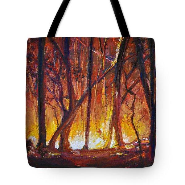 Savage Beauty Tote Bag by Li Newton