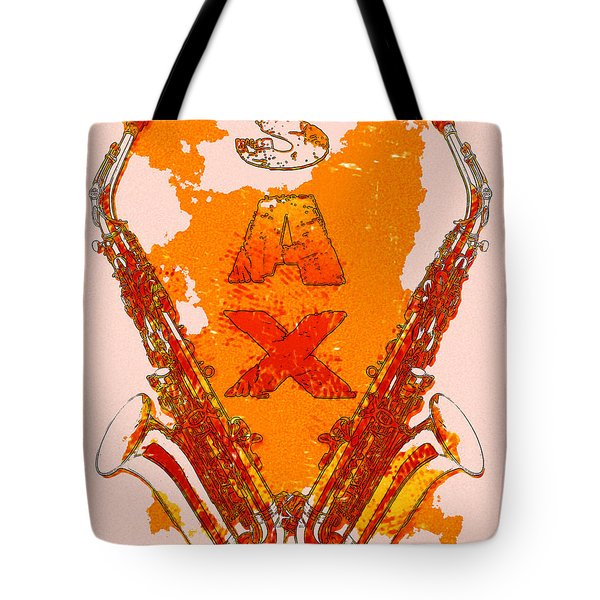 Sax Tote Bag by David G Paul