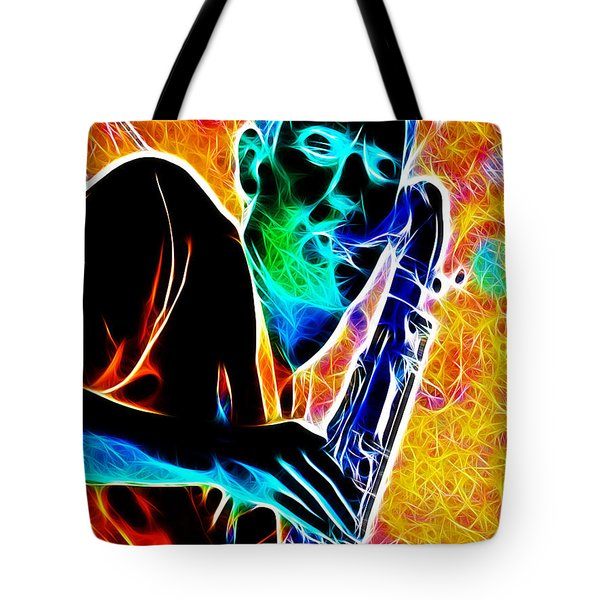 Sax Tote Bag by Stephen Younts