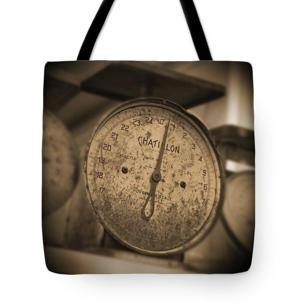 Scale Tote Bag by Mike McGlothlen