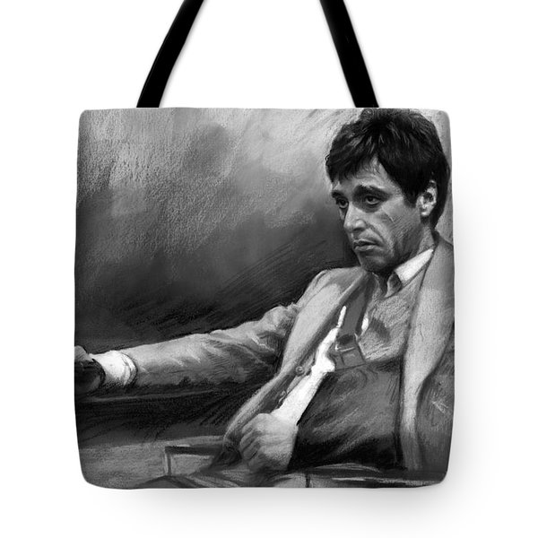 Scarface 2 Tote Bag by Ylli Haruni