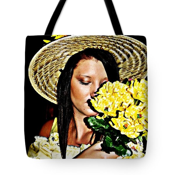 Scent Of Summer Tote Bag by Cindy Nunn