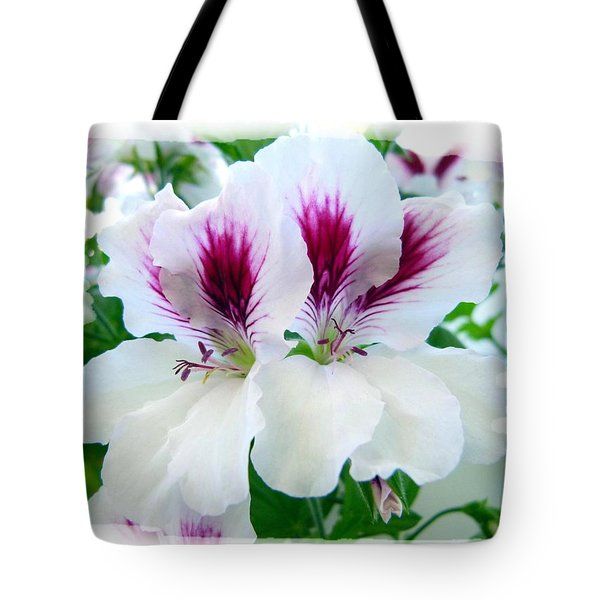 Scented Geraniums 2 Tote Bag by Will Borden