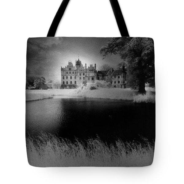 Schloss Basedow Tote Bag by Simon Marsden