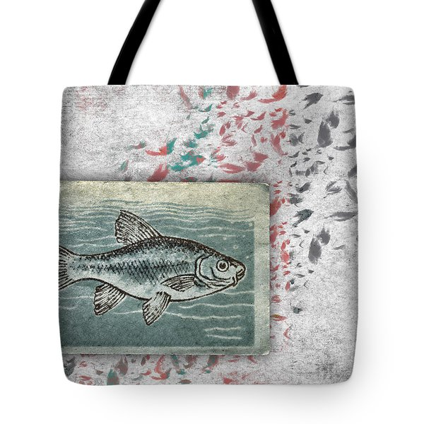 Schools 2 Tote Bag by Carol Leigh