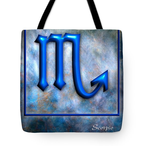 Scorpio Tote Bag by Mauro Celotti